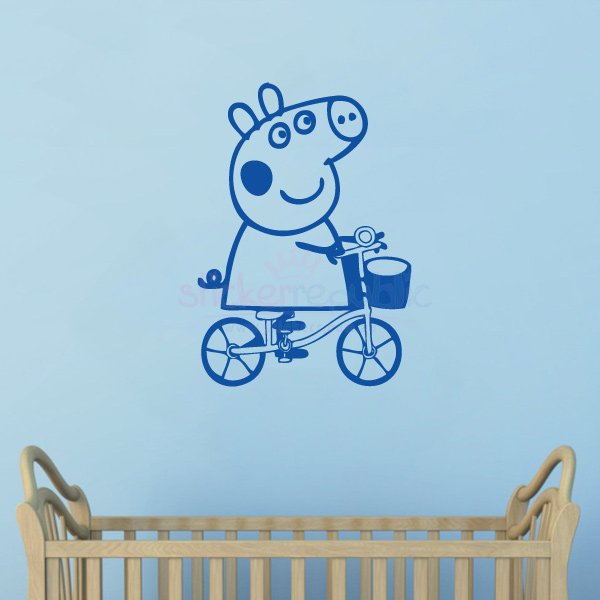 Peppa Pig Wall Sticker|Multiple Colours Available