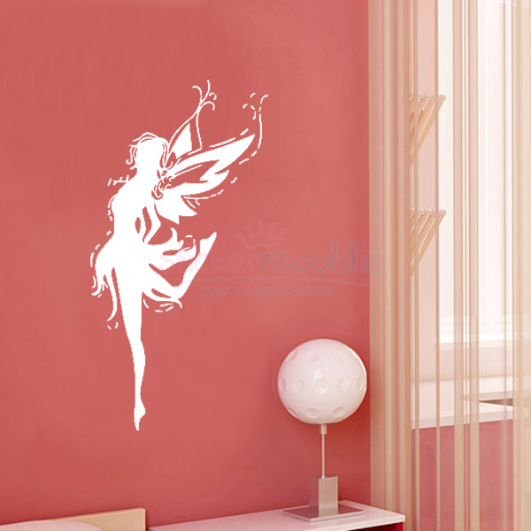 Dancing Fairy Wall Decal