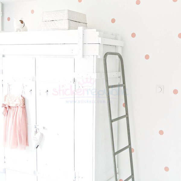 Polka Dots Wall Stickers|Polka Dot Wall Decal|Multiple Colours Available