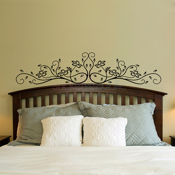 Carve Pattern Wall Art Decal for Sofa or Bed - Small