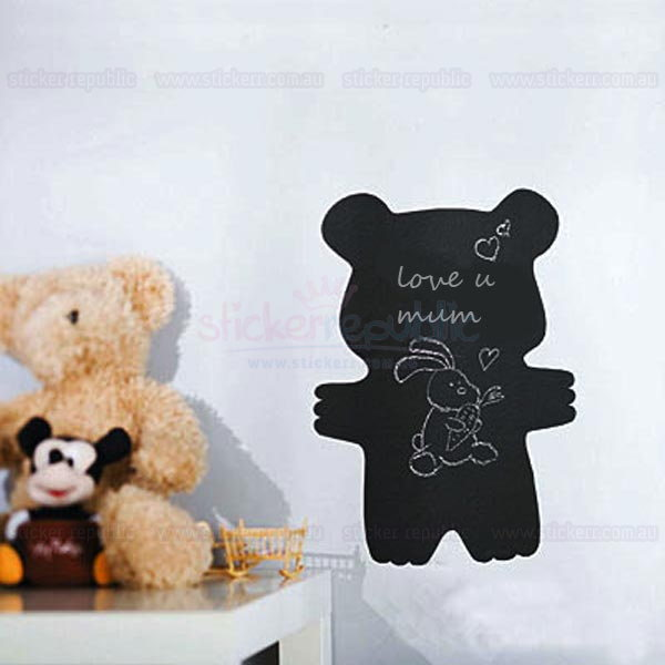 Little Bear Chalkboard Wall Sticker