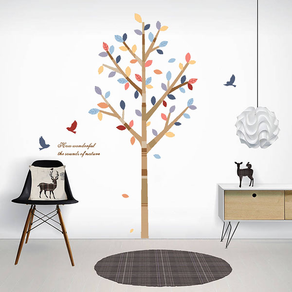 Sound of the Nature Wall Sticker