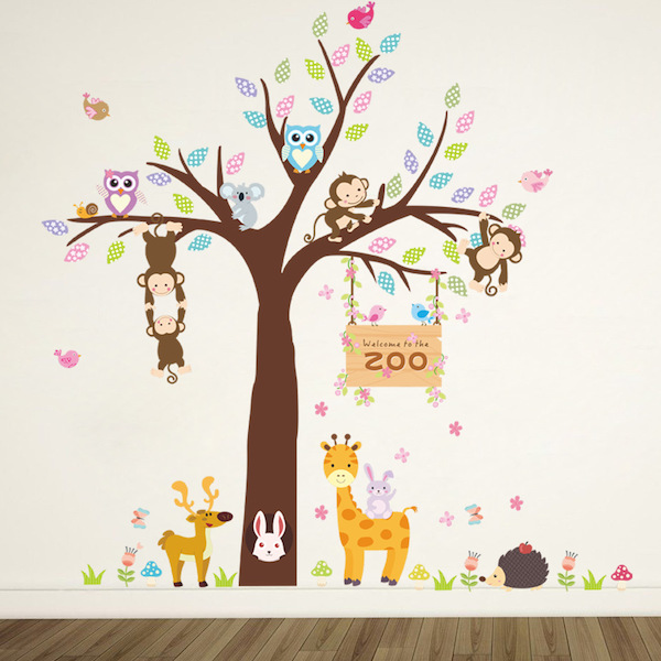 Welcome to the Zoo Wall Sticker