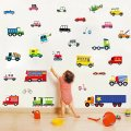 Full Range of Vehicles Wall Stickers