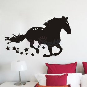 Running Horse Wall Sticker
