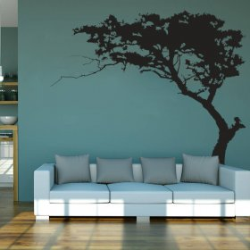 Large Bonsai Tree Wall Decal