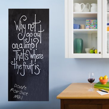 Large Cafe Removable Chalkboard Sticker|Blackboard Wall Decal Sticker - 60cm x 200cm