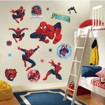 The Amazing Spider Man Wall Decals