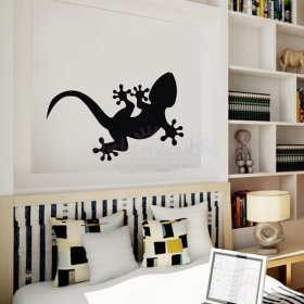 Cute Gecko Wall Decal